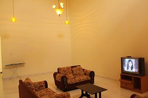 kluang homestay villa 20ft high ceiling main hall