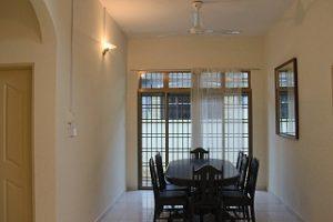 kluang homestay villa dining hall