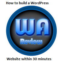 How to build a wordpress website within 30 minutes